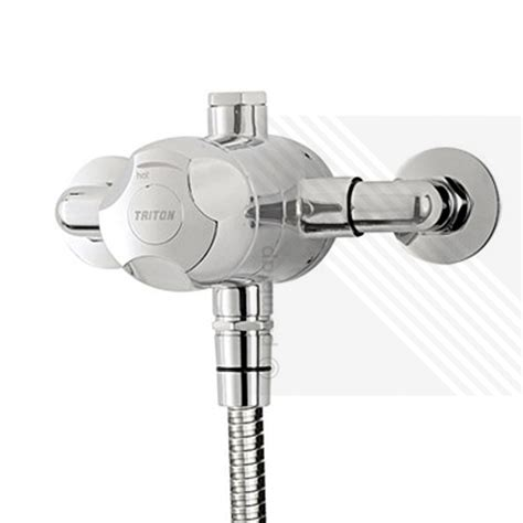 Mixer Valve Shower by Triton Dove Sequential Exposed Thermostatic Shower Mixer
