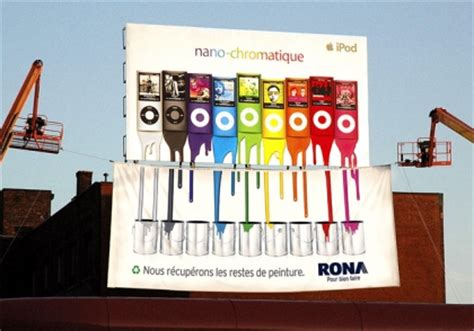 a creative marketing caign of rona ambush marketing
