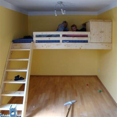 kinderbett haus selber bauen kinderhochbett selber bauen indoo haus design