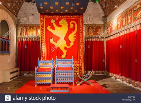 castle throne room the throne room at the great tower dover castle kent stock photo royalty free image 69189578