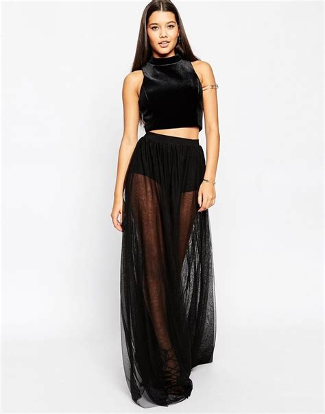 best 25 sheer maxi skirt ideas on sheer maxi
