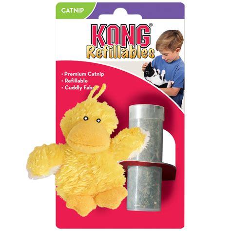 Mainan Kucing Kong Ny4 Duckie kong refillables duckie catnip