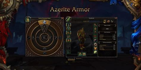 wow battle for azeroth umskillen azerit traits wird