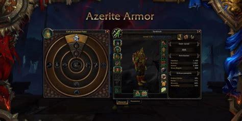 wow wird in battle for wow battle for azeroth umskillen azerit traits wird