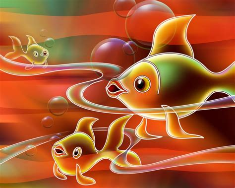 imagenes fondo de pantalla en 3d dibujo 3d de peces 1280x1024 fondos de pantalla y