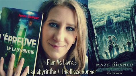 maze runner film vs buch film vs livre le labyrinthe the maze runner youtube