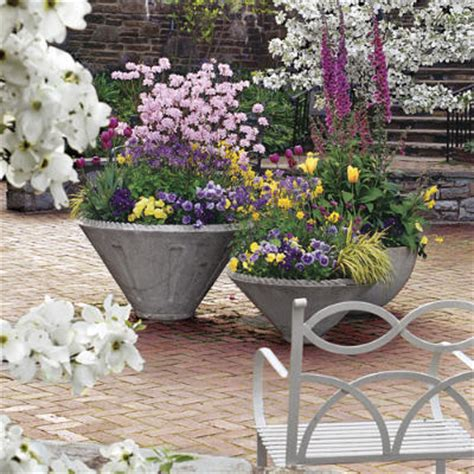 southern living container gardening when planning your flowerbeds buy plants for