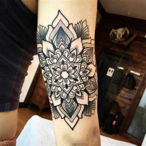 tattoo mandala artist little tattoos ornamental mandala tattoo on the right
