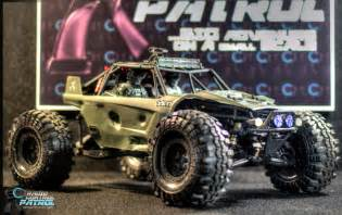 Rc patrol axial yeti wrecked and destroyed edition radio control