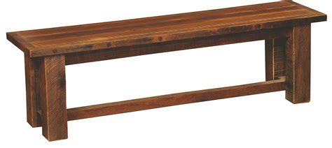 barnwood benches barnwood 48 quot antique oak top bench from fireside lodge