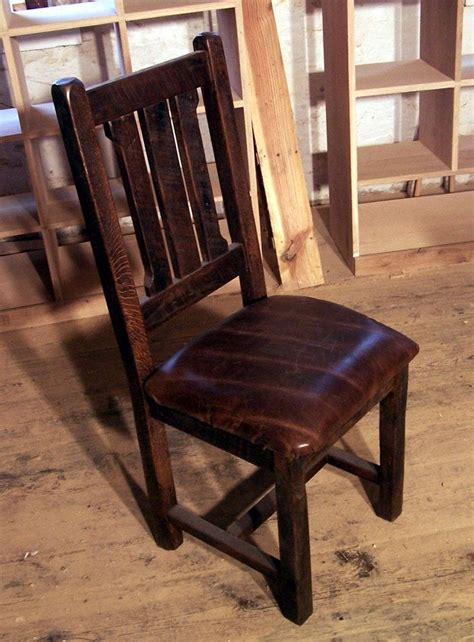 Reclaimed Armchair by Buy Crafted Reclaimed Oak Rustic Mission Dining