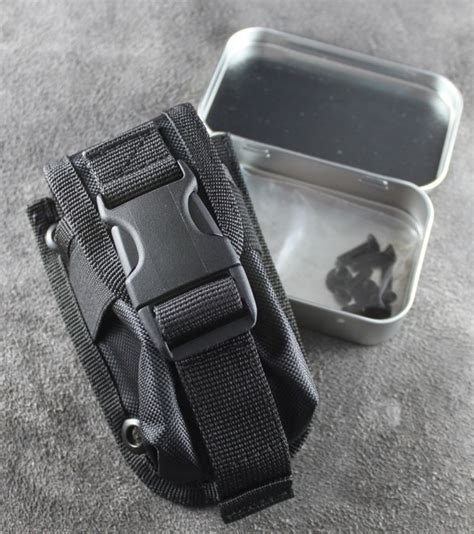 esee 5 molle back and pouch esee accessory pouch black new graham knives