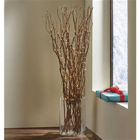 seventh avenue home decor led lit branches from seventh avenue d8745545