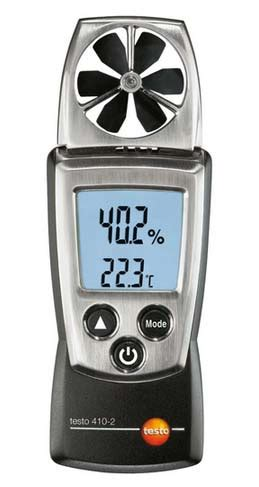 testo hoy testo 410 2 pocket pro air velocity temperature rh