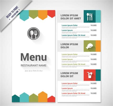 design a menu template 50 free restaurant menu templates food flyers covers