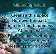 Detox Meditation Mantra by A Simple Mantra To Help Cleanse Your Space Smudging