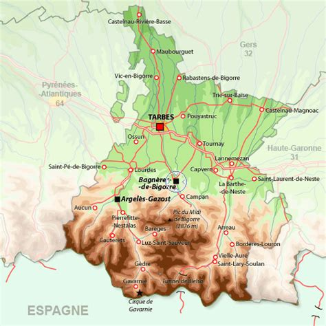 Appartement à Bagnères de Bigorre, location vacances Hautes Pyrénées : Disponible pour 2