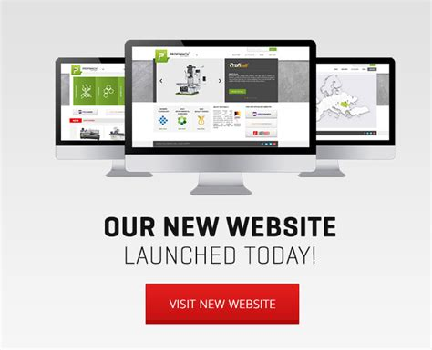 New Office Website Launches alfa metal machinery profimach new website launch