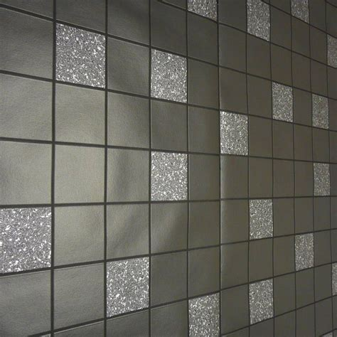 Bathroom Wallpaper Tile Effect by Black Glitter Kitchen Bathroom Granite Wallpaper 89130
