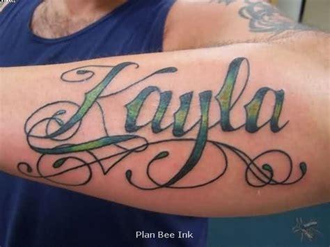 tattoo name kayla 36 meaningful ambigram tattoos