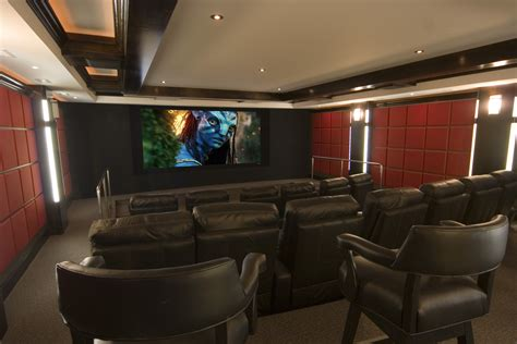 contemporary theater  curved screen gramophone