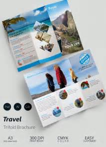 free travel brochure template 43 travel brochure templates free sle exle