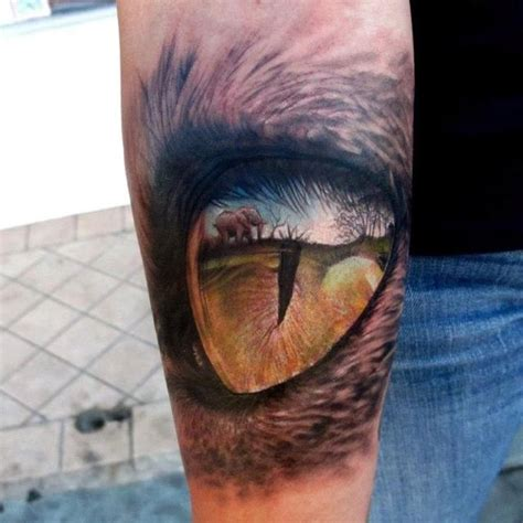 lion eyes tattoo badass lions eye by stefano tattoos tattoos 3d