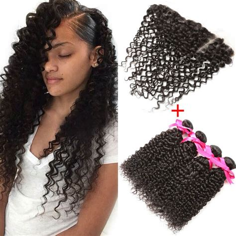 prett hair weave in chicago 4x13 inch lace frontal with hair bundles free part lace