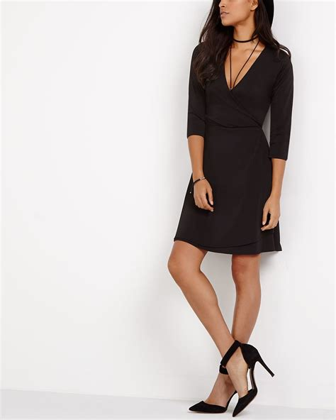 Crossover Dress cross dress reitmans