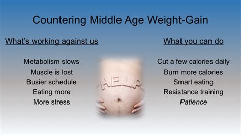 weight gain in the middle section countering middle age weight gain td fitness