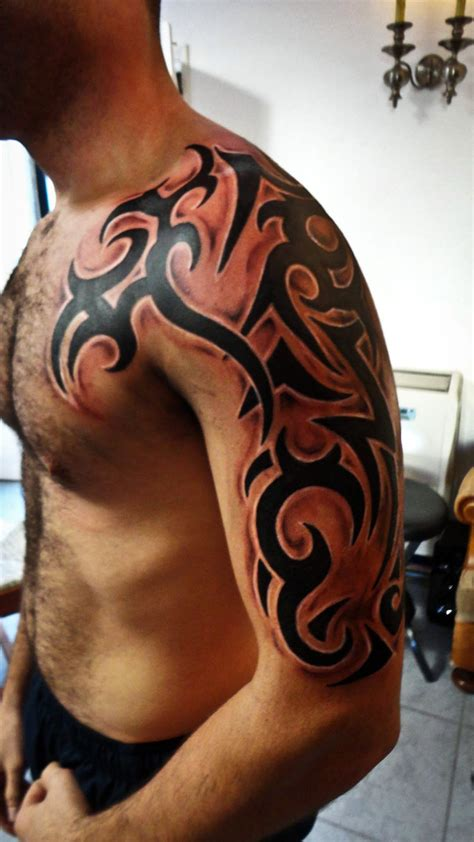 adding to a tribal tattoo tribal by saramira on deviantart