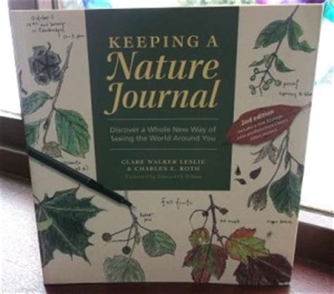 libro keeping a nature journal keeping a nature journal the curriculum choice