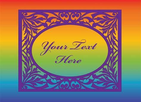 testo arcobaleno invito arcobaleno scaricare vettori gratis