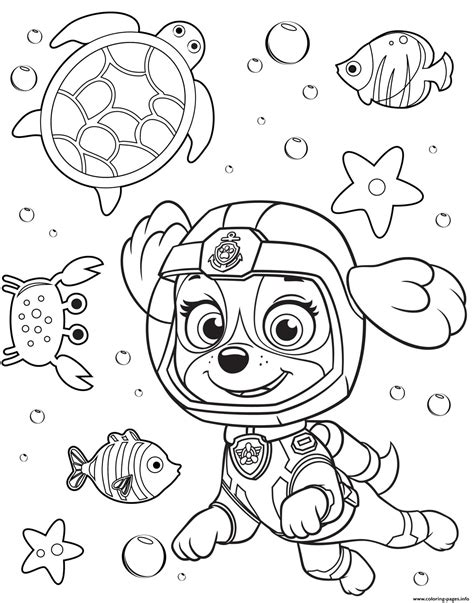 paw patrol coloring pages sea patrol paw coloring pages printable