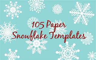 snowflakes template paper snowflakes templates go search for tips