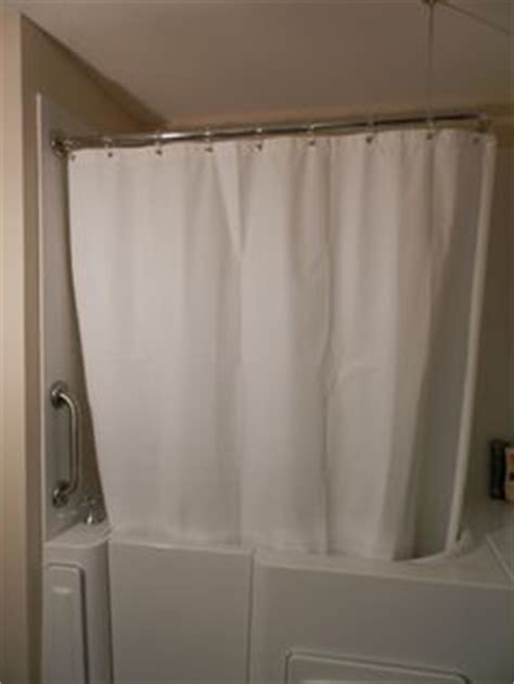 bathtub shower curtain surround walk in tub gallery of installed tubs on pinterest