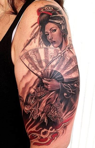 tattoo geisha pin up 81 best geisha tattoos images on pinterest geisha