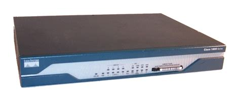 Router Cisco 1800 Series cisco 1801 1800 series version 12 4 2 xa2 integrated services router