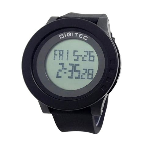 Jam Tangan Pria Digitec Batman Digital Original Grey Water Resist jual jam original digitec digitec dg5057 jam tangan pria black light grey pesta jam