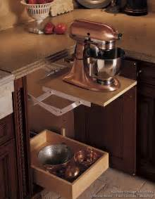 kitchen aid cabinets save counter space by storing your stand mixer in a base