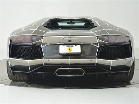 maserati tron this tron inspired chrome lamborghini is the perfect car