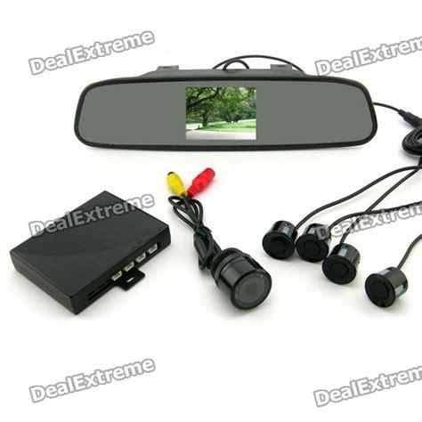 tft espejo retrovisor camara sensor de aparcamiento radar kit  sin gastos de