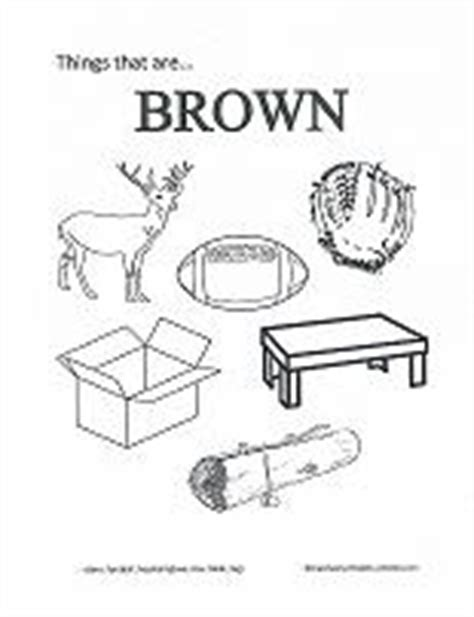 Preschool Coloring Pages Brown Coloring Pages