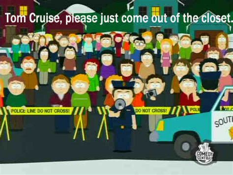 Tom Cruise Trapped In The Closet by South Park 912 Quot Trapped In The Closet Quot 150 Photo Gallery