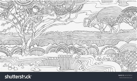 african landscape coloring page beautiful african landscape coloring pagesafrica stock
