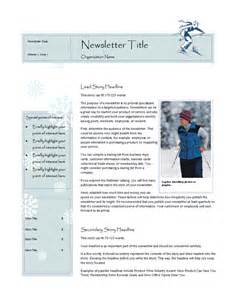 microsoft publisher templates newsletter best photos of microsoft office publisher newsletter