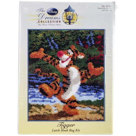 Disney Eeyore Latch Hook Rug Kit - m c g textiles 52768 eeyore rug disney dreams collection