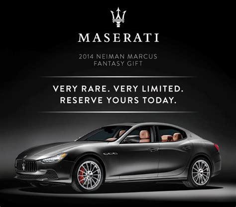 Happy 100th Anniversary Neiman by 100th Anniversary Neiman Limited Edition Maserati