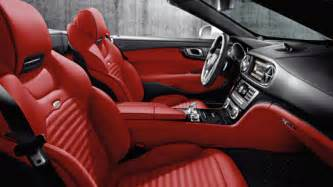 Mercedes With Interior Designo Paint Leather And Interior Trim Mercedes