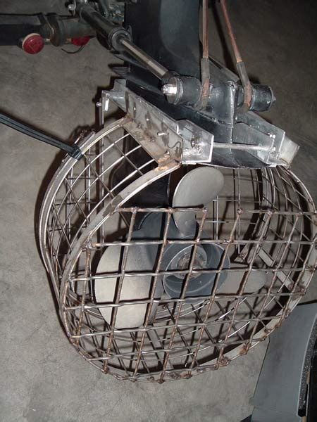 preventing pontoon boat over the bow propeller accidents - Boat Propeller Cage Guard